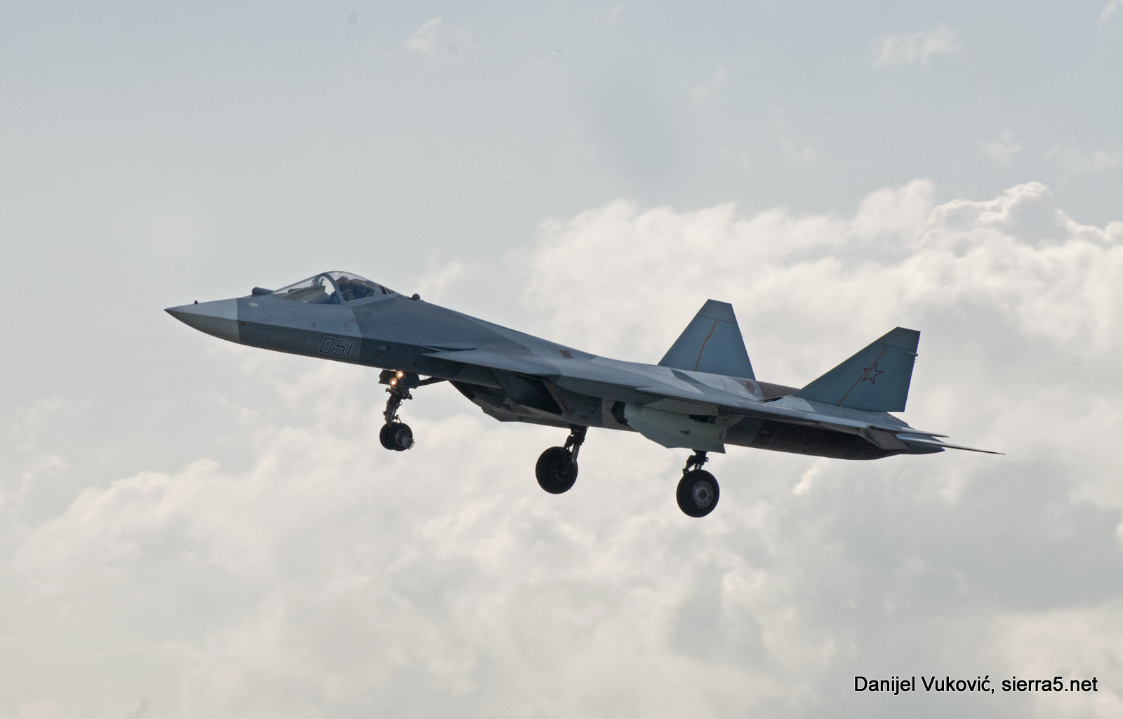 Su-57 is the new official name of the T-50; announced of the Commander of the Russian Air and Space Forces, ColGen Viktor Bondarev during MAKS 2017