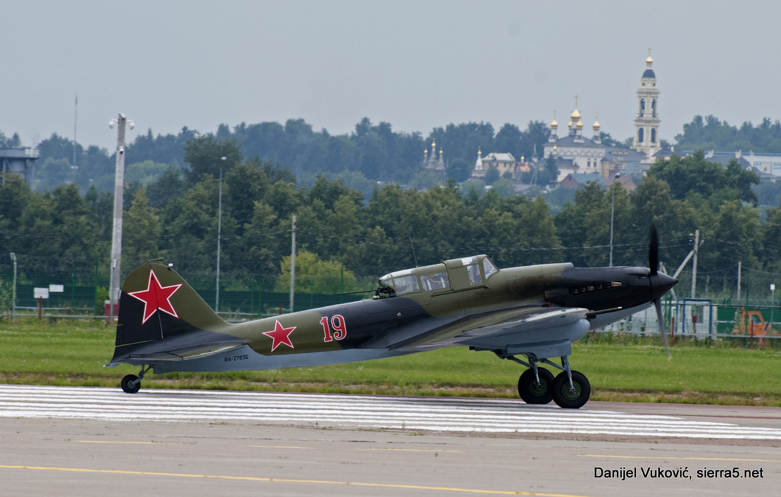 Restored Il-2 was participate in flying program