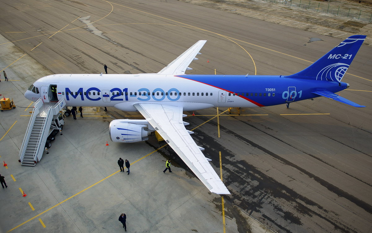 MC-21-300, foto: Irkut Corporation