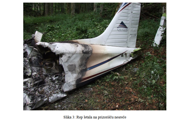 Objavili končno poročilo letalske nesreče Piperja na Predmeji