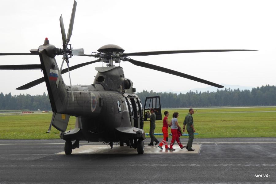 Predstavili delo dežurnih posadk letalstva Slovenske vojske