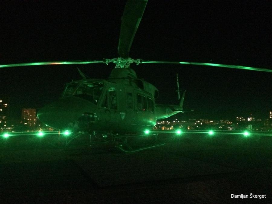 Dežurne helikopterske posadke Slovenske vojske v prvi polovica oktobra poletele na pomoč že 40-krat