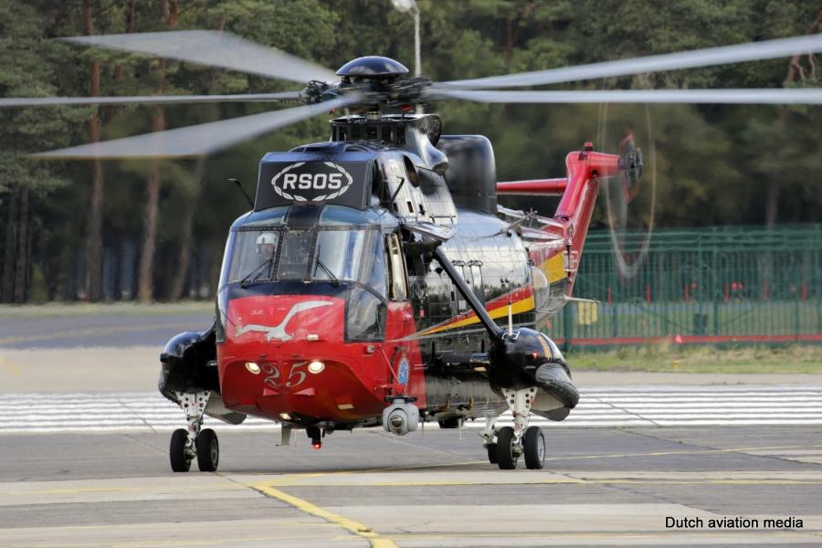 Belgijski S-61 Sea-King odhaja v pokoj