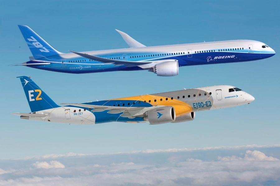 Boeing in Embraer bosta združila moči
