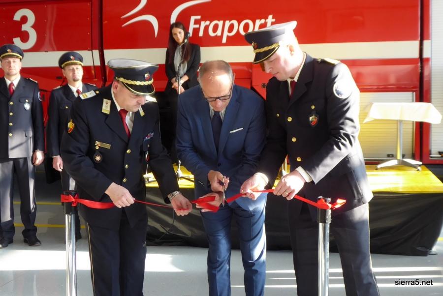Novi prostori za letališke gasilce