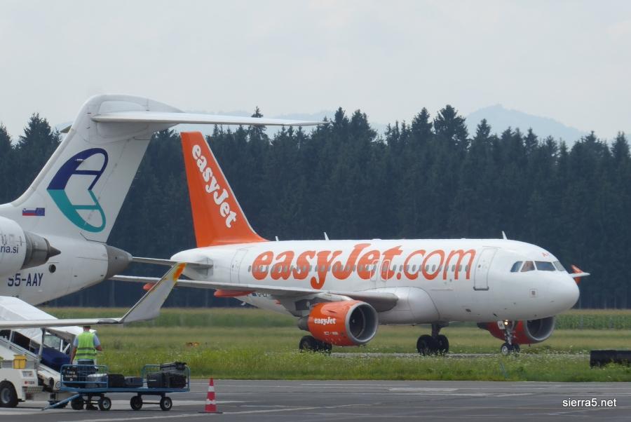 easyJet bo Ljubljano povezoval z Berlinom tudi pozimi