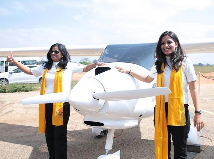 Indijki s Pipistrelovim letalom okrog sveta