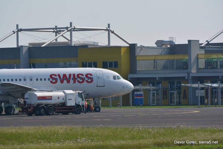 Vlada sprejela sklep o pripravi DPN za Letališče Edvarda Rusjana Maribor