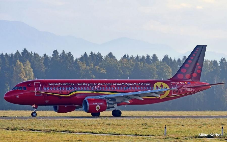 Letala Brussels Airlines bodo vzdrževali tudi v Adrii Tehniki