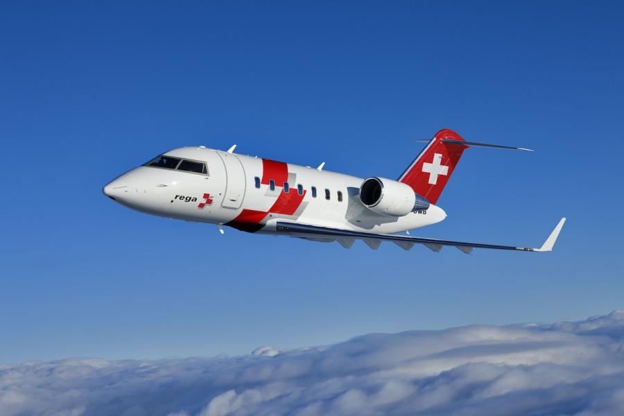 Švicarski reševalci izbrali Bombardier in Airbus
