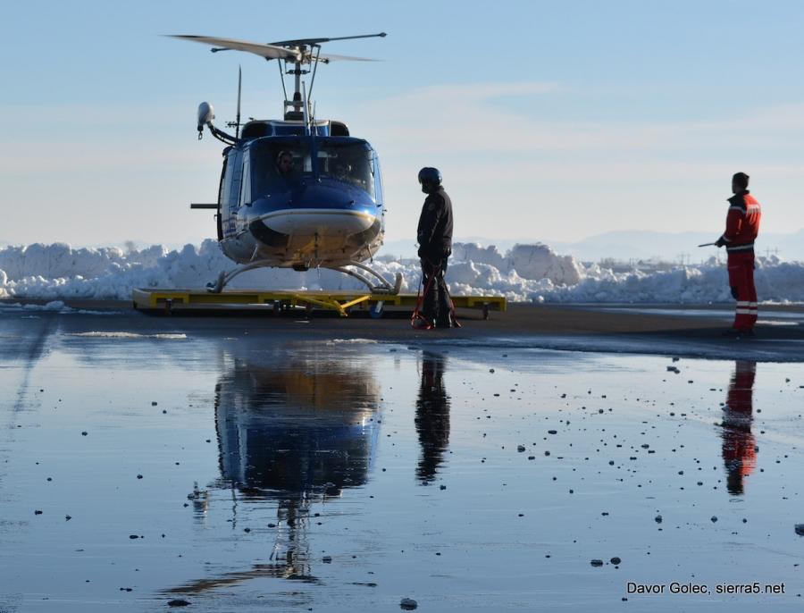 Policijski helikopterji lani prepeljali skoraj 300 poškodovanih ali obolelih