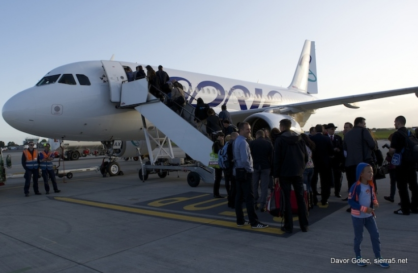 Adria Airways ensures important flight connections from Swiss Capital Bern