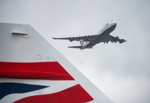 FOTO: British Airways se je poslovil od legendarnega Boeinga 747