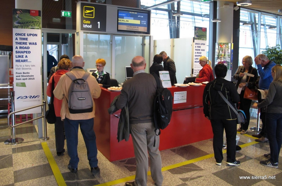 Z uporabo biometrije do 75% krajši čas pregleda in vkrcanja na letalo