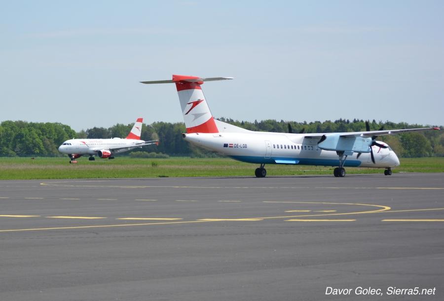 Austrian Airlines bo spremenil sestavo flote, nič več z Dashi