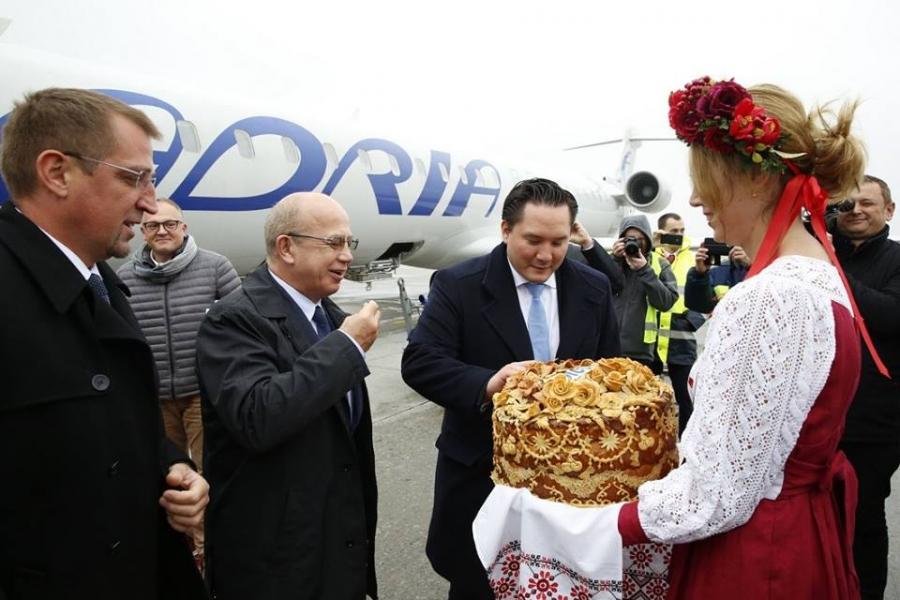 Z Adrio Airways odslej tudi v Kijev