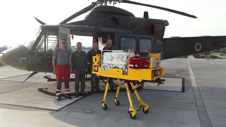 Dežurne helikopterske posadke Slovenske vojske letos poletele na pomoč že 600-krat