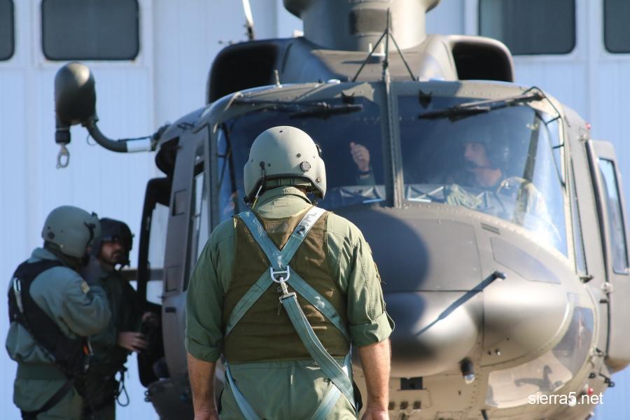 Usposabljanje pripadnikov vojaškega letalstva vojske Črne gore