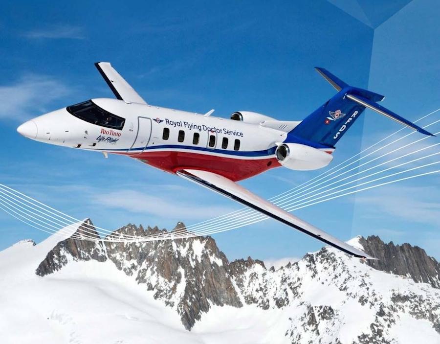 Izdelan prvi Pilatus PC-24 za ambulantne lete
