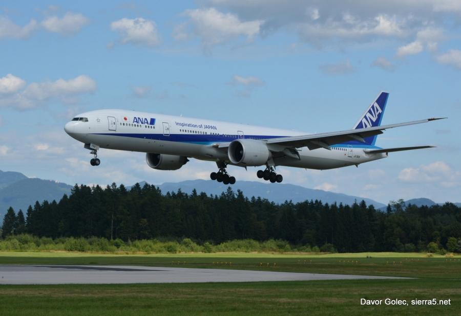 All Nippon Airlines avgusta s čarterji iz Japonske