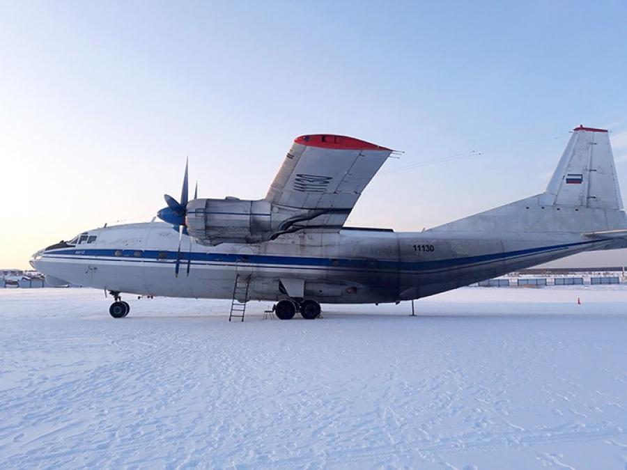 Ruski Antonov med letom izgubil zlato in diamante