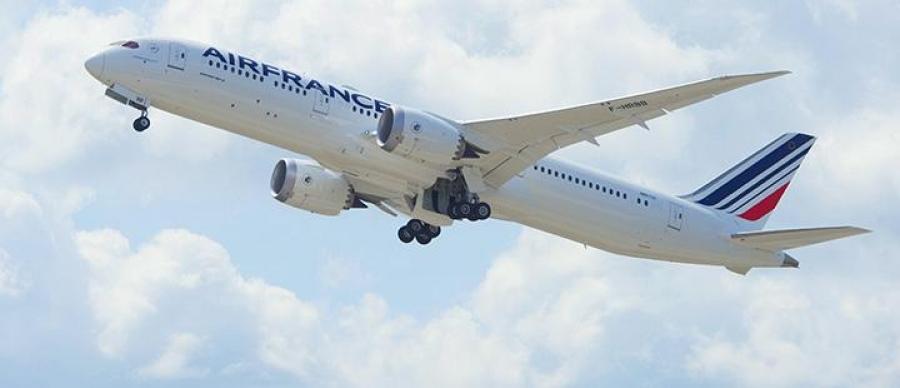 Air France po novem v Montreal leti z najnovejšim Boeingom 787