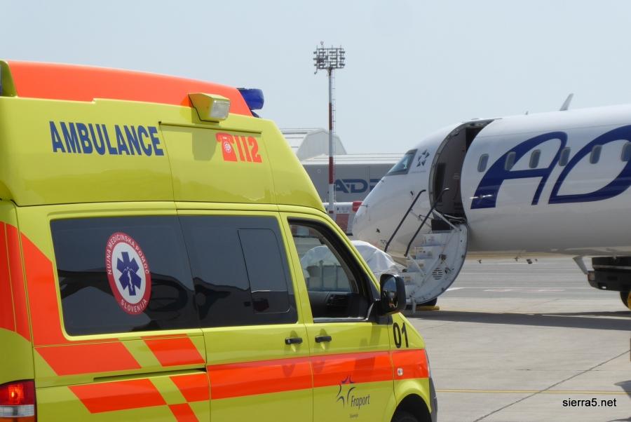 CAA Adrii prepovedala letenje z dvema letaloma CRJ900