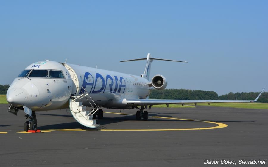 Adria Airways bo letela za Luxair z dvemi letali