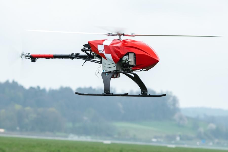 Švicarji razvili avtonomni dron za reševanje in iskanje oseb