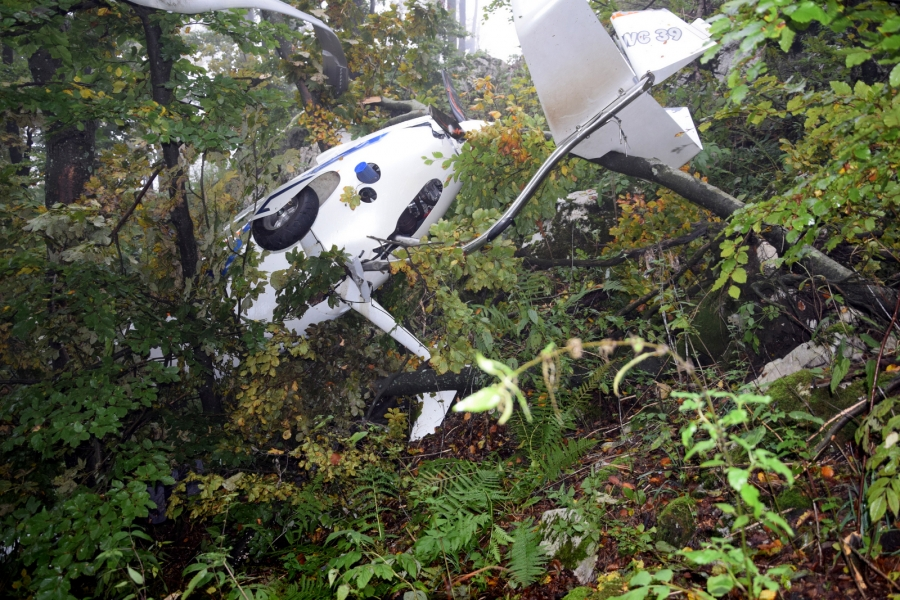 Nesreča dveh žirokopterjev tipa Autogyro – Calidus dne 26.9.2017