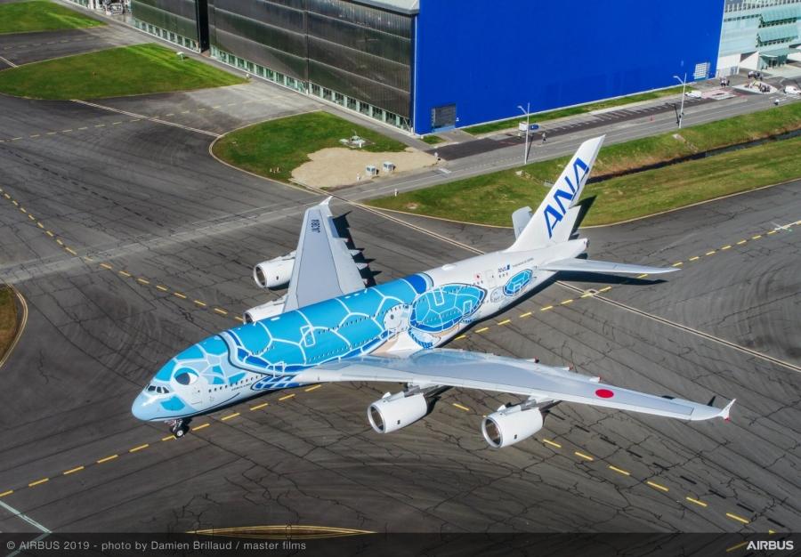 Japonska dobila prvega Airbusa A380