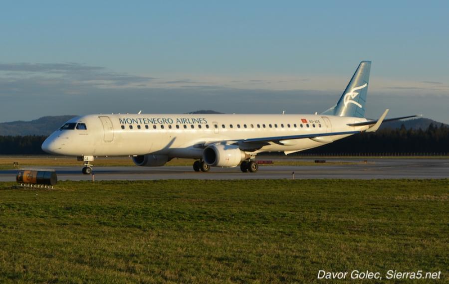 Montenegro Airlines dodaja lete iz Ljubljane v Podgorico