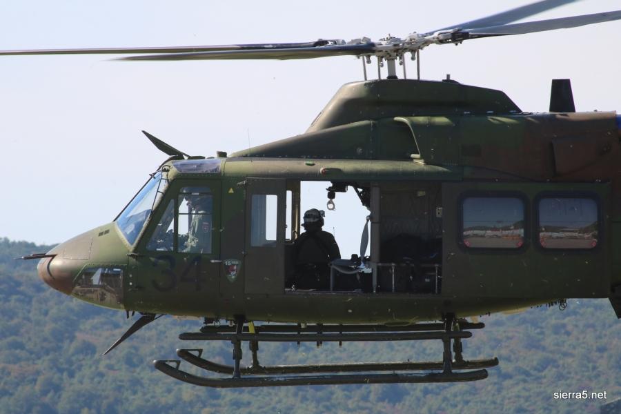 Dežurne posadke Slovenske vojske septembra poletele na pomoč 22-krat