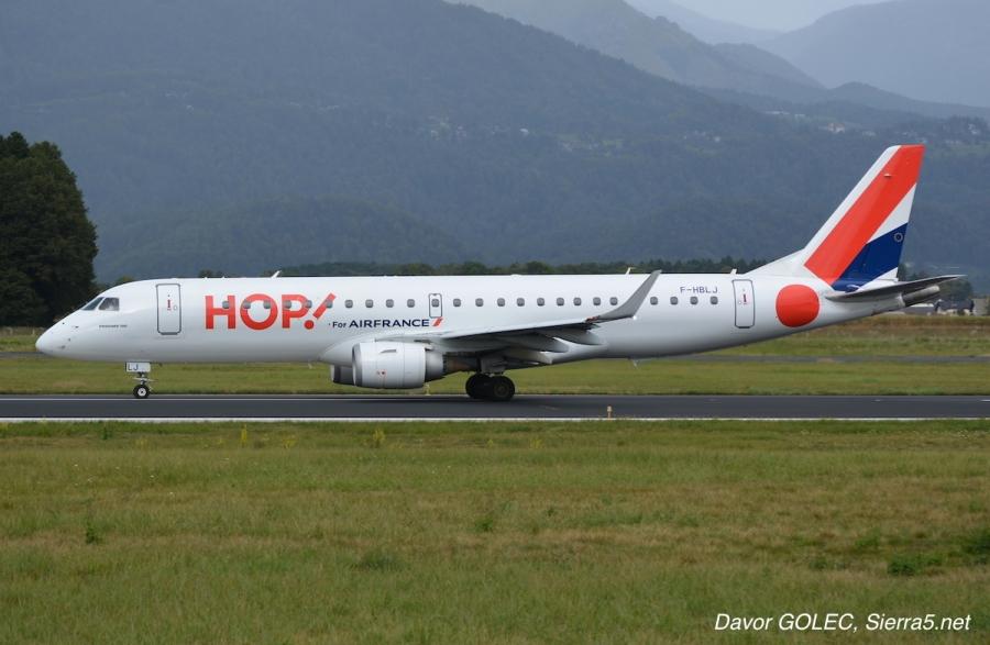 Letalska družba HOP! se je preimenovala v Air France HOP