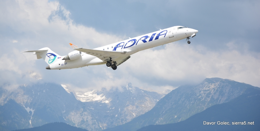 Adria Airways prejela vplačilo 4 milijonov evrov