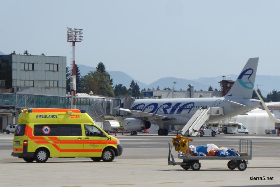Odziv MzI in Adrie Airways na nastalo situacijo