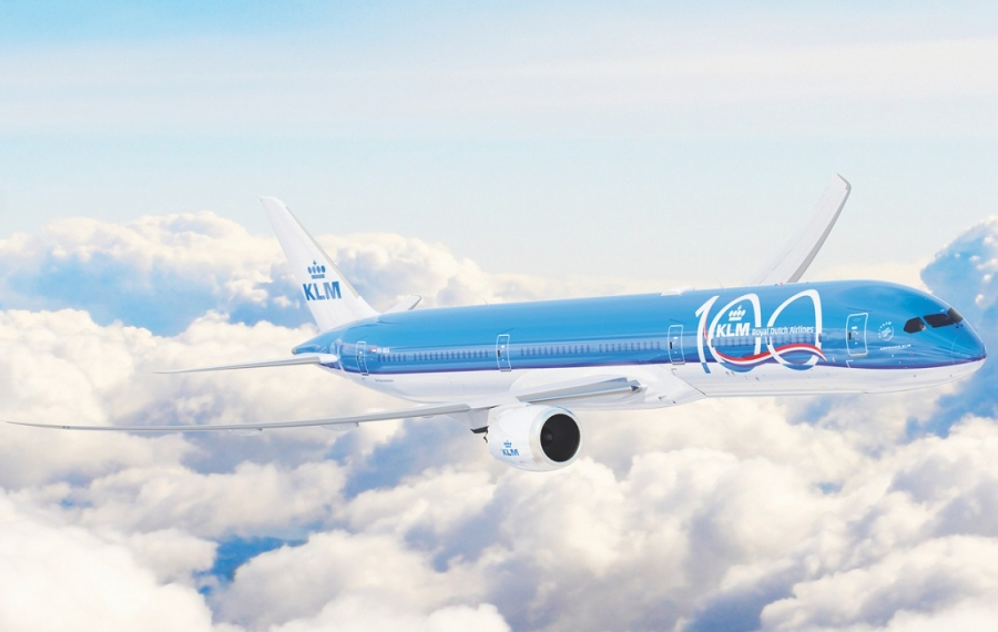 KLM danes praznuje 100. rojstni dan